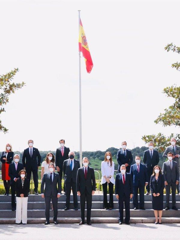 Felipe VI recibe en audiencia al Consejo Empresarial Español para el Desarrollo Sostenible