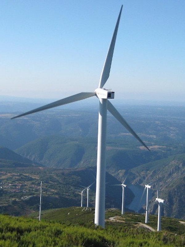 Polémica en Cantabria contra el parque eólico de Ribota