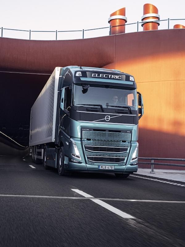 Volvo Trucks 'apuesta' decidida mente por la energía eléctrica en el transporte de mercancías