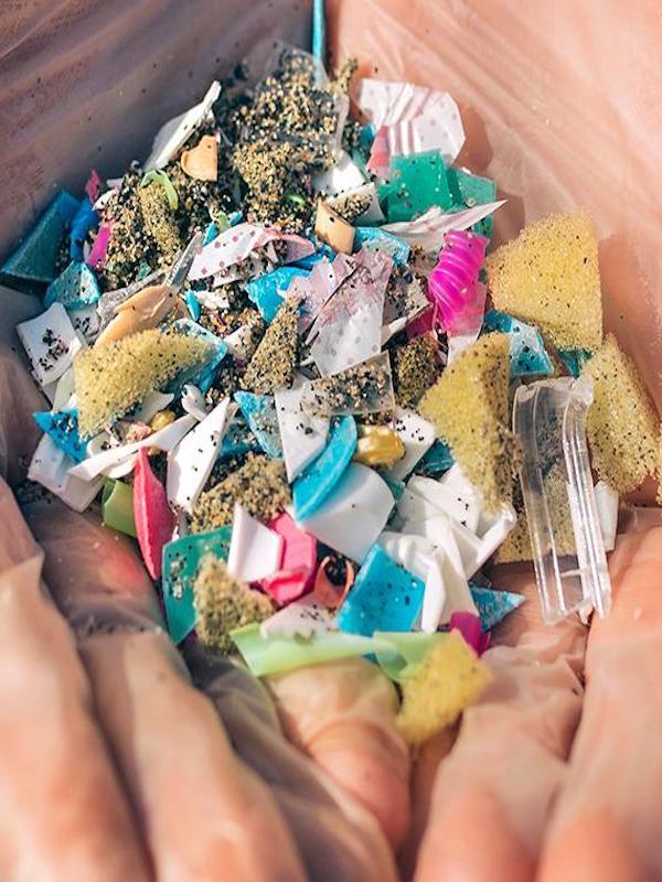 Análisis de los microplásticos