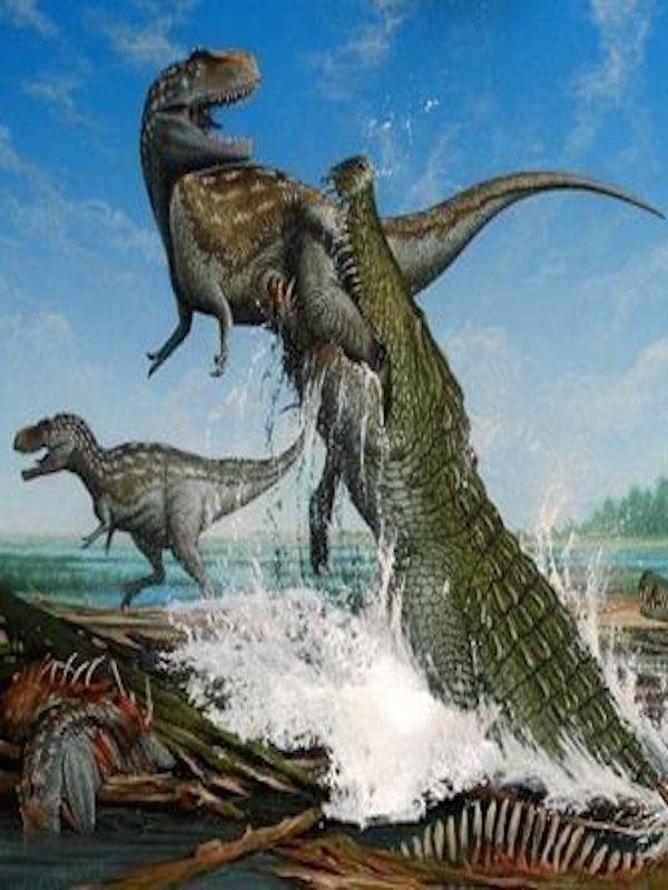Todo sobre el extinto cocodrilo 'cornudo'
