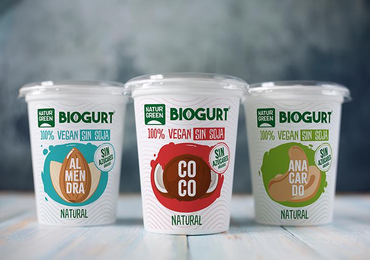 Descubre las nuevas alternativas 100% vegetales al yogur y al Kéfir de NaturGreen: Biogurt y Kefir-Bio.