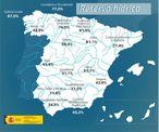 Los embalses españoles al 45,5% de su capacidad