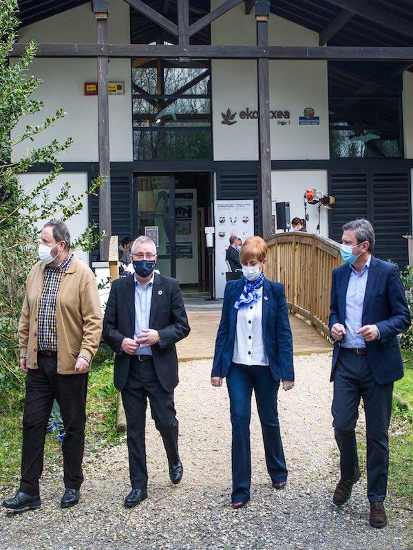 Euskadi mejora la conectividad de los espacios naturales de Txingudi
