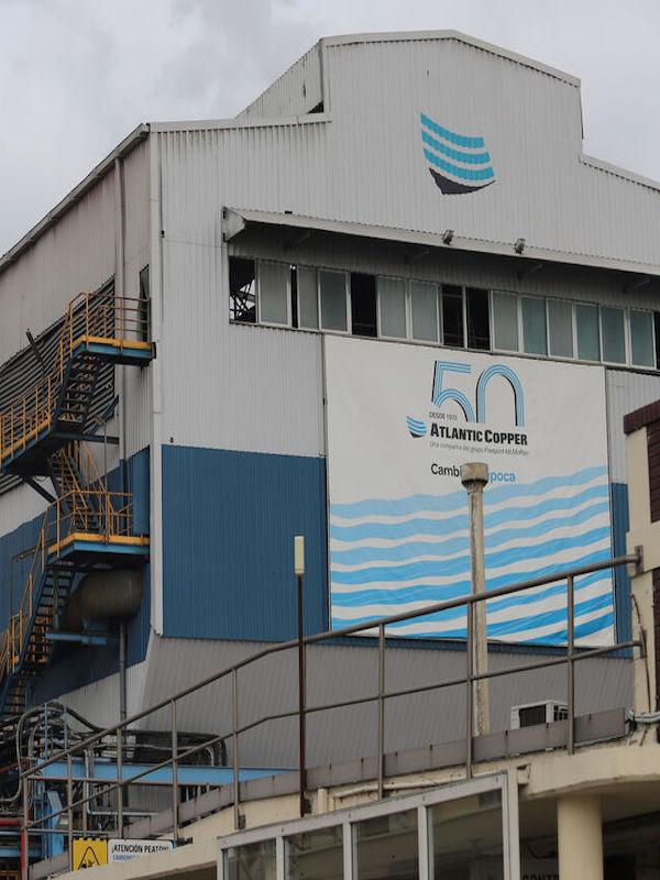 Atlantic Copper construirá su planta de economía circular de Huelva