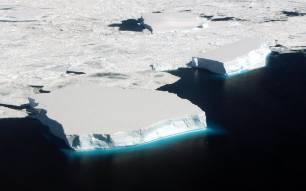 Analizar los icebergs antárticos revelan grandes cuestiones