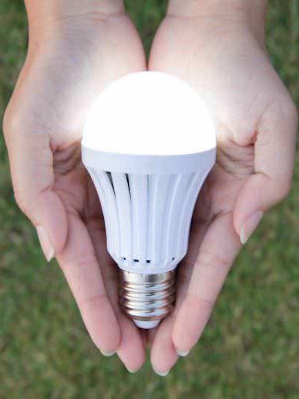 La iluminación LED permite ahorrar en viviendas hasta un 60% en la factura de la luz