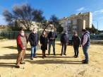 Sevilla implementa una nueva área de esparcimiento canino de casi 500 metros cuadrados en La Oliva