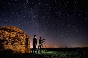 Astroturismo en la Reserva de la Biosfera Tajo Internacional