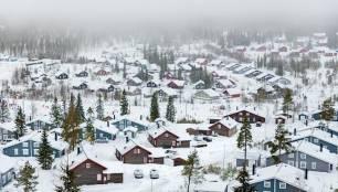 Calentamiento global, los precios de los terrenos en los países nórdicos caen en picado