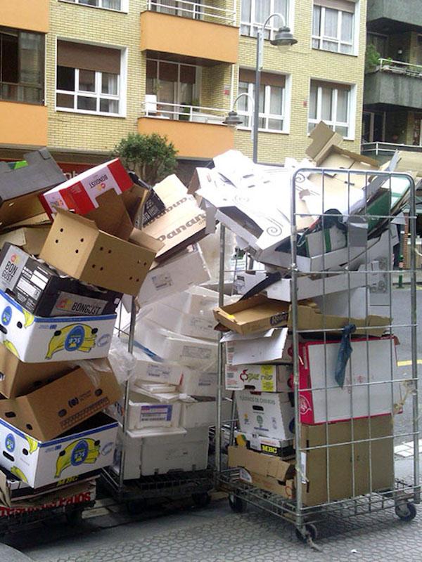 Logroño 'líder' en gestión de la recogida selectiva de papel y cartón