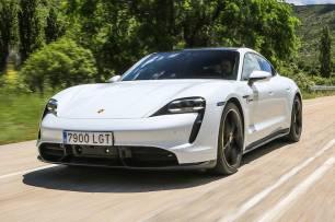 Porsche Taycan 'eléctrico'
