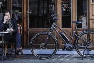 Espectacular la bicicleta Peugeot Cycles eléctrica eC01 Crossover