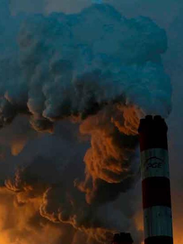 La contaminación puede crear ceguera