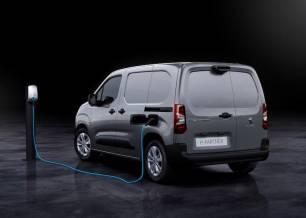 Peugeot e-Partner eléctrico, fabricado en España