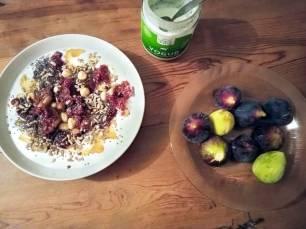 Receta del ' Cantero de Letur' de Yogur con Fruta y Semillas, saludable, ecológico, y sostenible