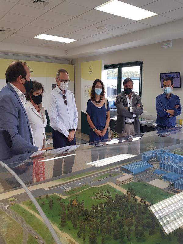 Una delegación del Gobierno Regional de Murcia visita el Complejo Medioambiental de Sogama (Galicia) como referente en la gestión circular de los residuos