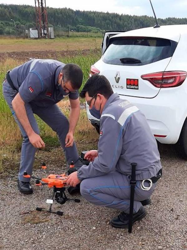 Galicia. Sogama refuerza su servicio de vigilancia industrial con drones