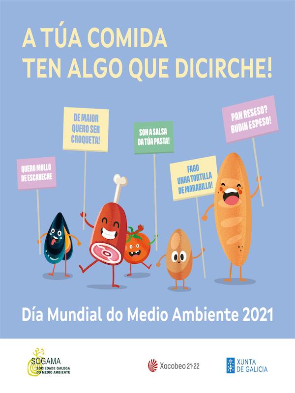 Nueva campaña se SOGAMA para reducir el desperdicio alimentario se lanza el Día Mundial del Medio Ambiente 2021