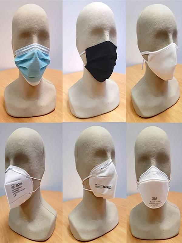 Las mascarillas utilizadas frente a la covid-19 no tienen riesgo para la salud