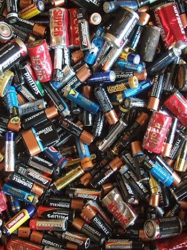 Reciclando 'pilas'