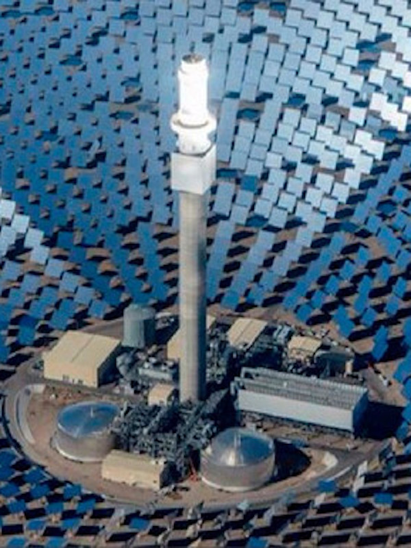 La 'termosolar' tiene el menor coste de las renovables por la noche