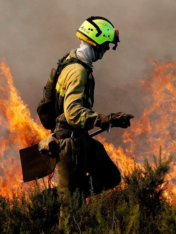 España tiene a punto el dispositivo de lucha contra incendios forestales para la campaña 2021