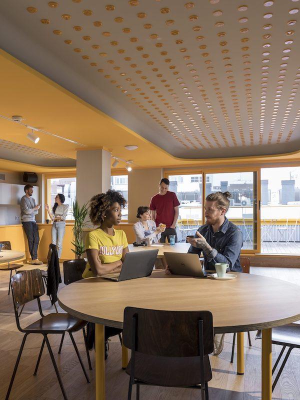 1er coworking español de cero emisiones: 'Impact Hub Madrid'