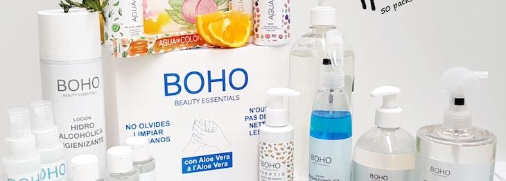 Introduce en tu pedido el código 'ECOTICIAS' tendrás un descuento inmediato: Sorteo 50 lotes de productos Boho Beauty Essentials