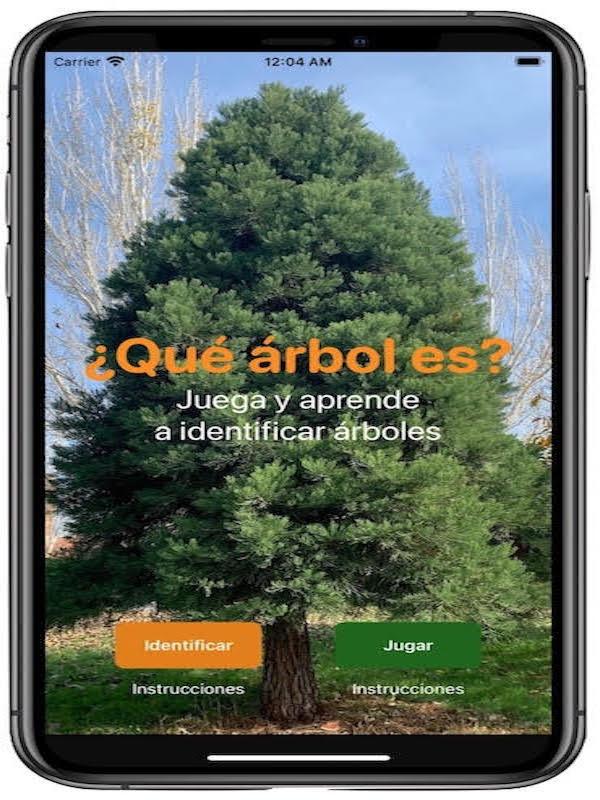 Nueva app gratuita para jugar y aprender a identificar árboles