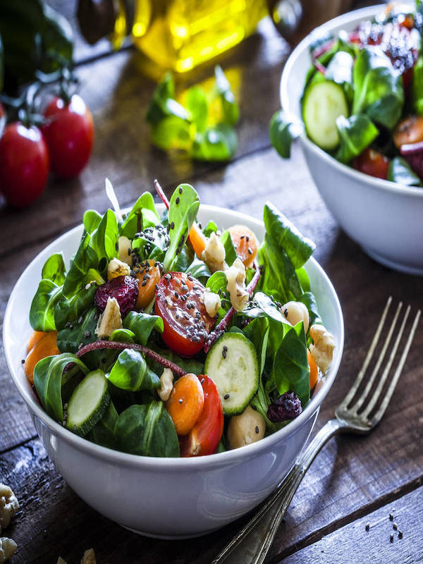 Colors and healthy diet