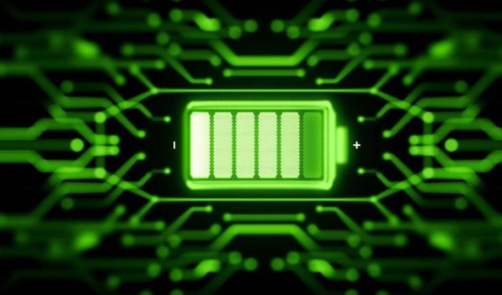 Tecnología verde cargando dispositivos en segundos