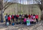 Nueva plantación de árboles en Baena en el cerro Minguillar