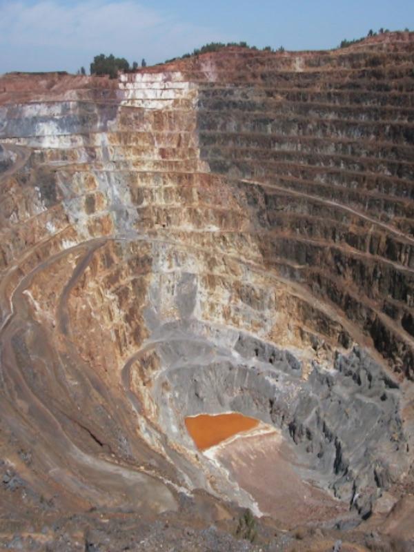 Todo listo para instalar una planta de reciclaje en la mina de Riotinto (Huelva)