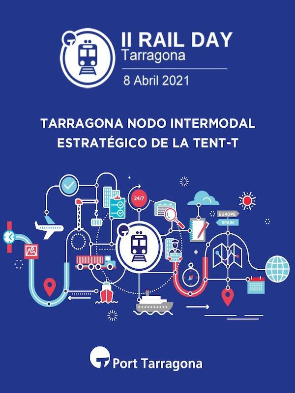 El Port Tarragona 'lidera' la Raíl Day que tratará sobre la intermodalidad