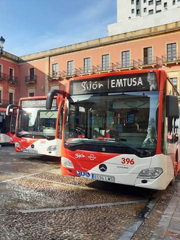 Emtusa (Asturias) hacia emisiones '0' gracias a sus autobuses híbridos diésel-eléctricos