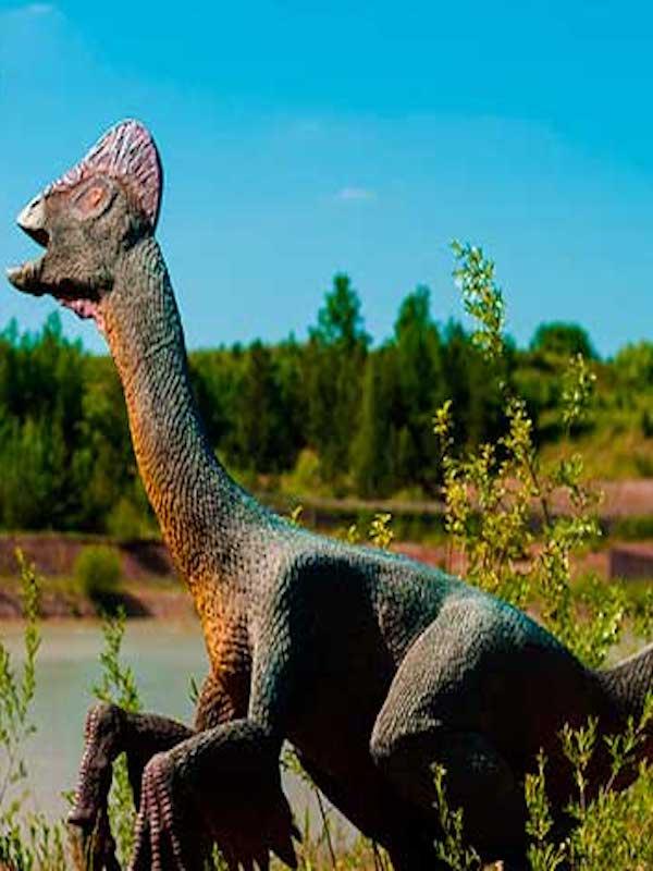 Primer dinosaurio excavado incubando y con crías fosilizadas