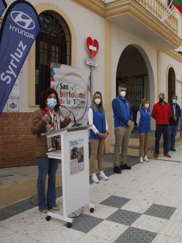 San Bartolomé (Huelva) ofrece desde este viernes un vehículo eléctrico compartido para facilitar desplazamientos
