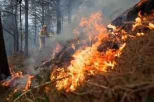 Bajan a seis los incendios forestales activos en Cantabria, que superan la veintena en las últimas 24 horas