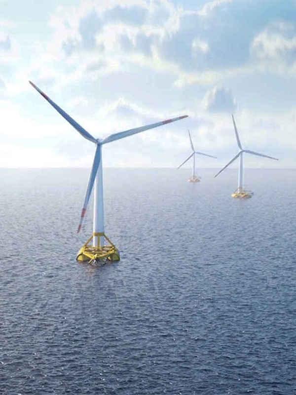 Siemens Gamesa cierra un 'megapedido' de 100 turbinas con RWE para un parque eólico marino en Reino Unido
