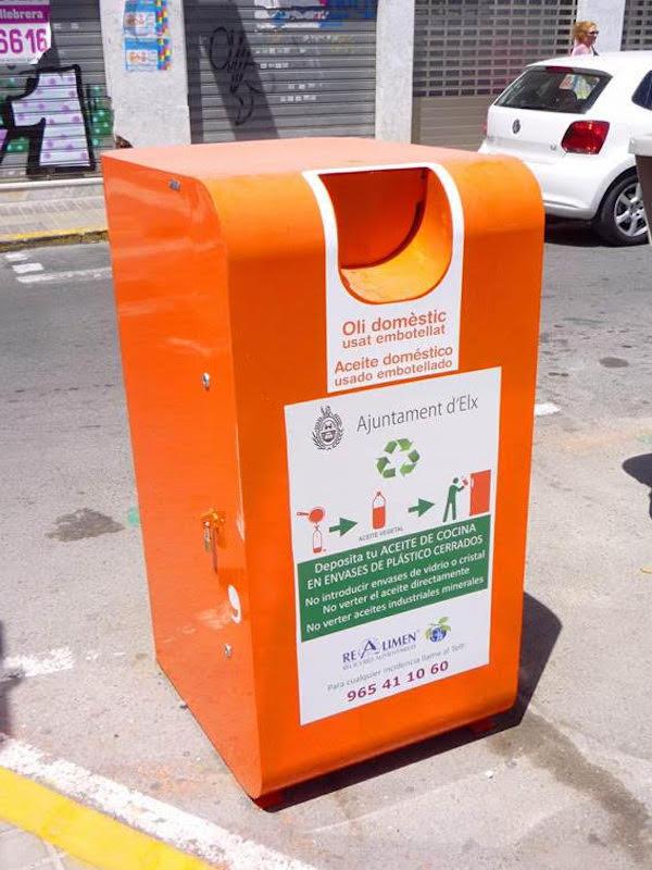 ¿Cómo se realiza el reciclaje de los aceites usados?