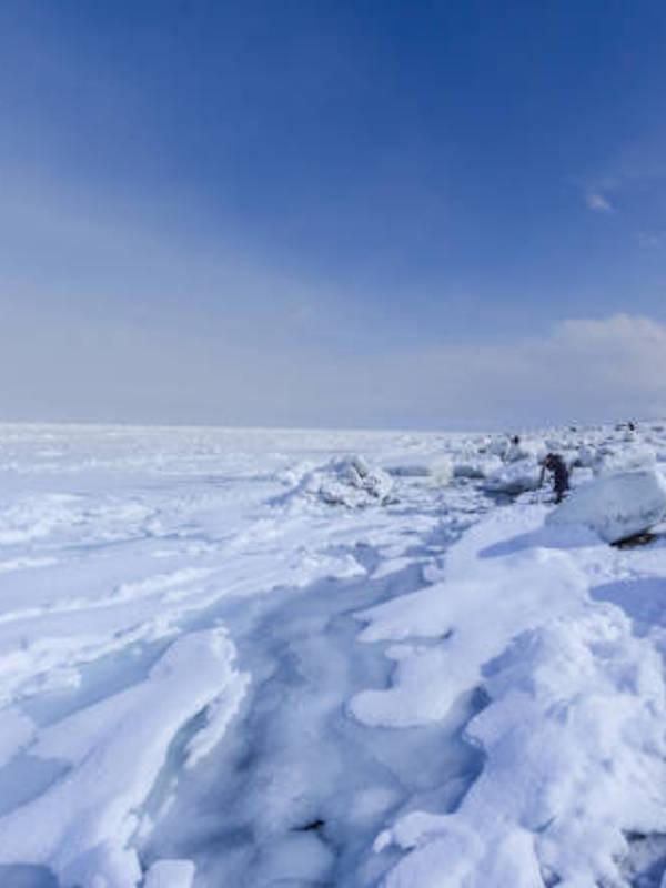 Los glaciares, como 'cangrejos'