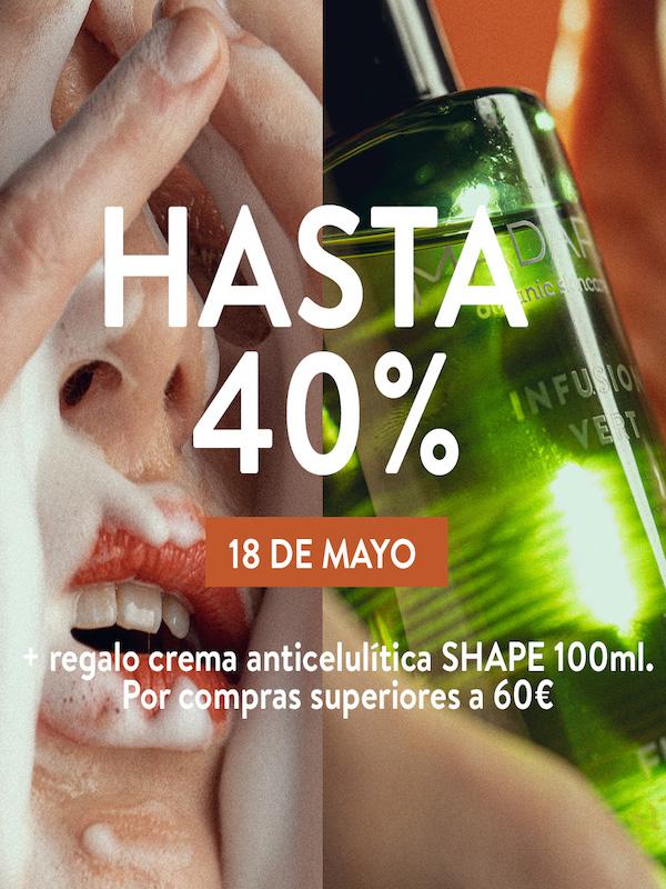 Sólo 24h: Mádara hasta el -40% + una sorpresa anticelulítica (cosmética ecológica)