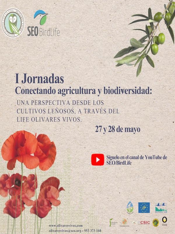 1as Jornadas 'Conectando agricultura y biodiversidad: una perspectiva desde los cultivos leñosos a través del Life Olivares Vivos'