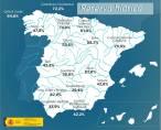 Los embalses españoles al 44% de su capacidad