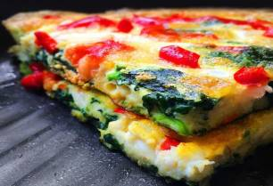 Tarta horneada de verduras eco
