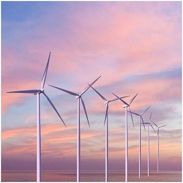 El incipiente mercado de los molinos de viento marinos