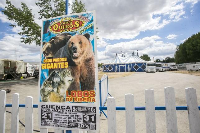 El Circo Quirós sufre el 'acoso' desproporcionado de activistas descontrolados y que en nada ayudan a la causa