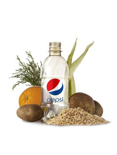 PepsiCo desarrolla una botella de plástico PET totalmente renovable
