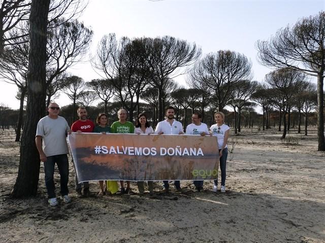 EQUO plantea blindar Doñana